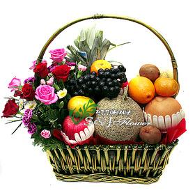 과일꽃바구니 z66